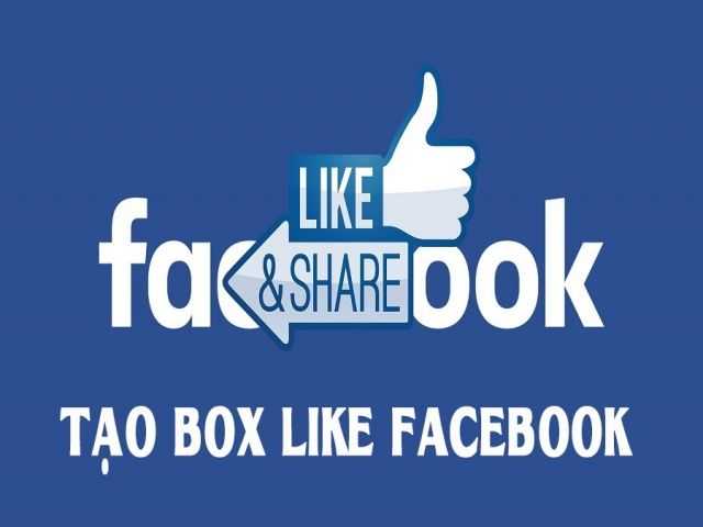 Tạo BOX Like Fan Facebook